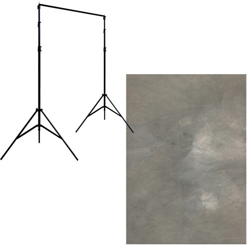 Savage Port-a-Stand/Roma Muslin Background (10 x 20')