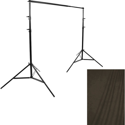 Savage Port-a-Stand/Bogata Muslin Background (10 x 20')