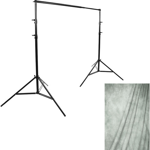 Savage Port-a-Stand/Milano Muslin Background (10 x 20')