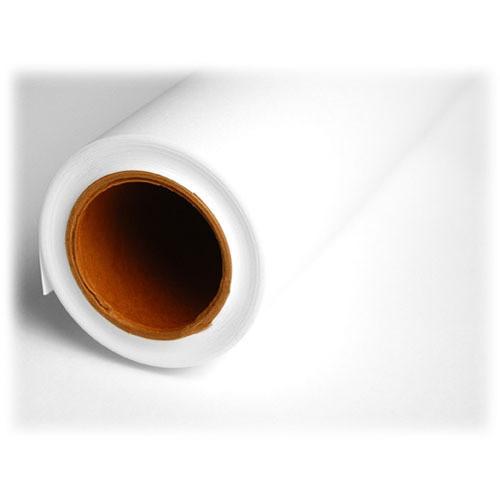 "Savage Widetone Seamless Background Paper (#66 Pure White, 53"" x 36')"