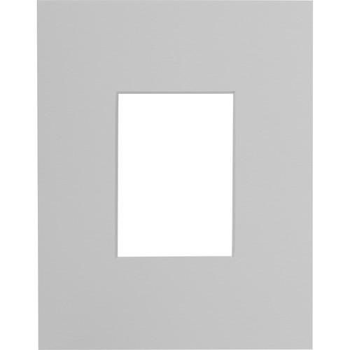 "Savage ProMatte Museum Mat (11x14"" Mat for 5x7"" Print - Polar White)"