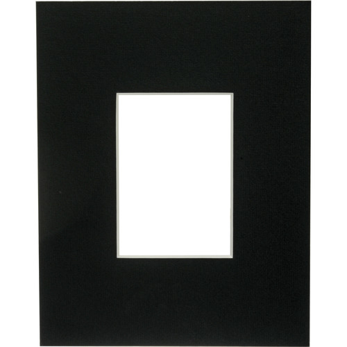 "Savage ProMatte Museum Mat (11x14"" Mat for 5x7"" Print - Matte Black)"