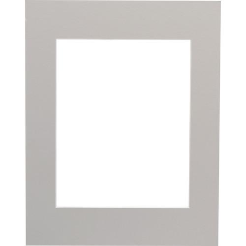 """Savage ProMatte Pre-Cut Mat - 11 x 14"""" Mat for 8x10"""" Print - Oxford Grey"""
