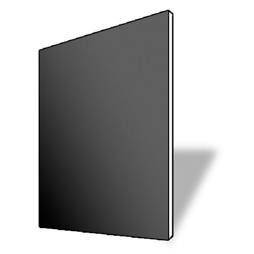 "Savage 7004469 ProMatte Acid-Free Beveled White Core Mats  11x14/8x10""  (Matte Black)"