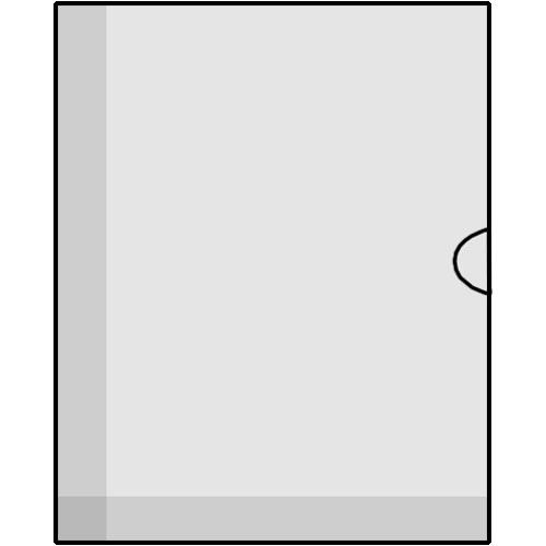 """Savage Glassine Envelope w/ Open Side for 5 x 7"""" - 1000 Pack"""