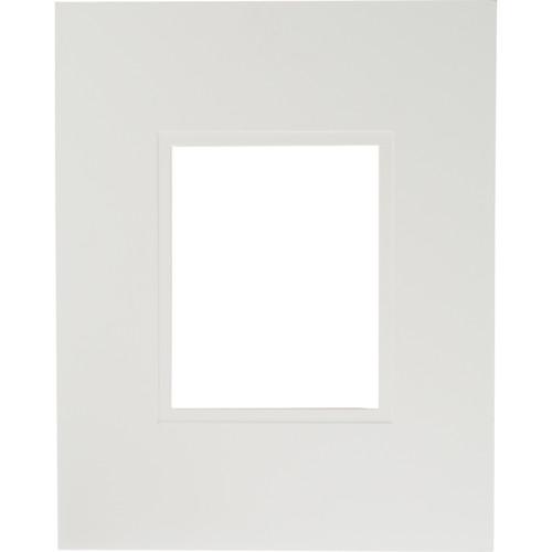 "Savage ProMatte Museum Mat (16x20"" Mat for 8x10"" Print - Polar/Polar White)"