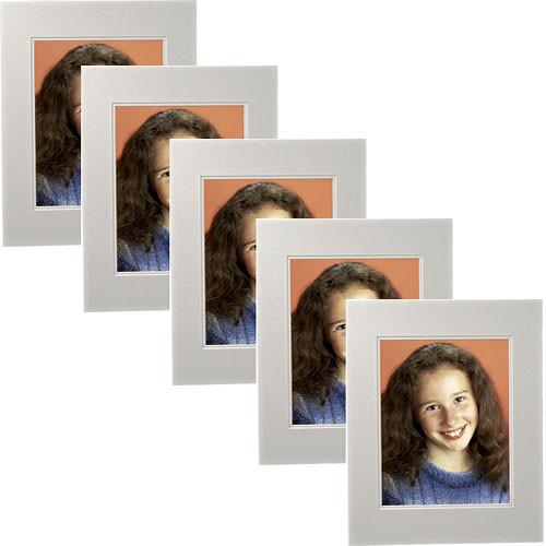 "Savage ProMatte Double Whitecore 16 x 20"" Mat for Print - White (5 Pk)"