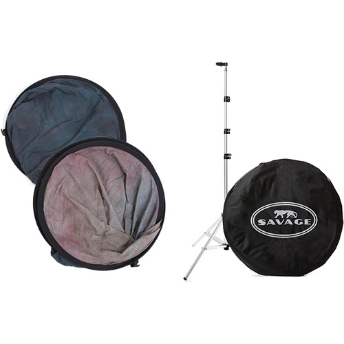 "Savage Collapsible Stand Kit (60 x 72"", Indigo Nights)"