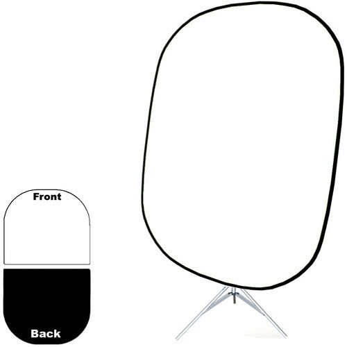 "Savage Collapsible Stand Kit (60 x 72"", Black/White)"