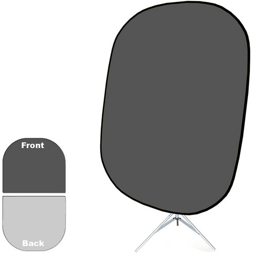 "Savage Collapsible Stand Kit (60 x 72"", Dark/Light Gray)"