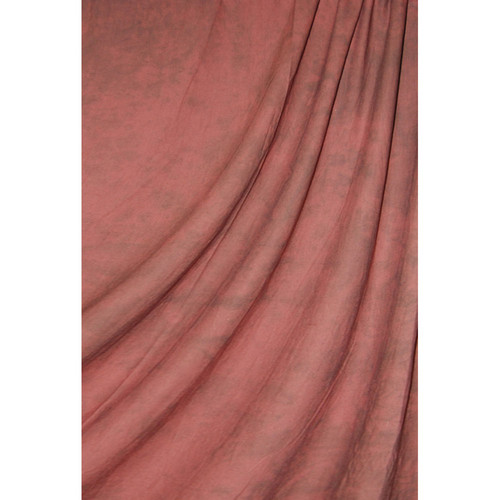 Savage Accent Crushed Muslin Background (10 x 24', Sedona Red)