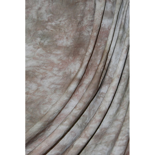 Savage Accent Crushed Muslin Background (10 x 24', Mocha Bisque)