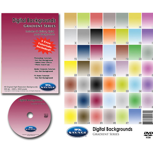 Savage DVD-ROM: Digital Backgrounds (Gradient)