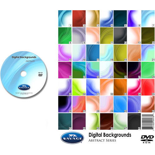Savage DVD-ROM: Digital Backgrounds (Abstract)