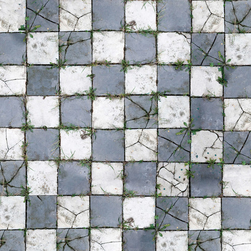 Savage Floor Drop 8 x 8' (Aged Pavers)