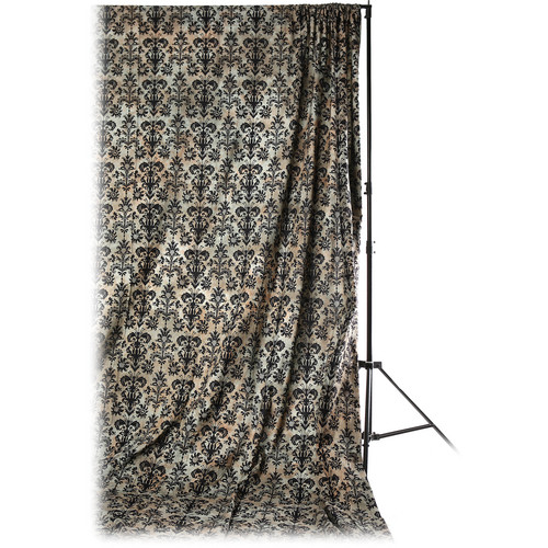 Savage Accent Retro Background (10 x 12', Antique Black)