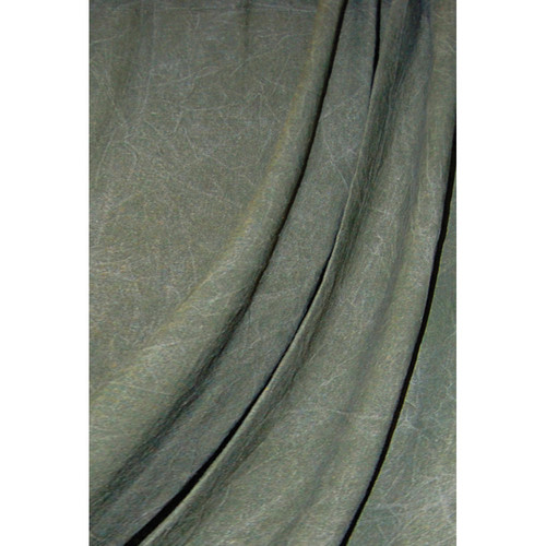 Savage Reversible Forest Green Washed Muslin Backdrop (10 x 12')