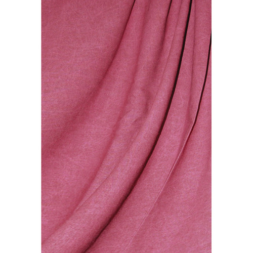 Savage Reversible Cranberry Washed Muslin Backdrop (10 x 12')