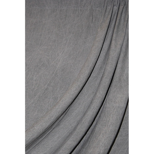 Savage Reversible Dark Gray Washed Muslin Backdrop (10 x 24')