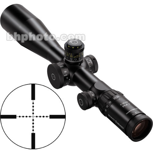Schmidt & Bender 5-25x56 Police Marksman II LP Riflescope with P3 Reticle