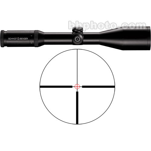 Schmidt & Bender 3-12x50 Classic Waterproof & Fogproof Riflescope (6.3-2.5 Degree Angle of View) with Illuminated L9 Reticle (Matte)