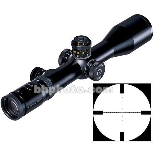 Schmidt & Bender 3-12x50 Police Marksman II LP Riflescope with Illuminated Gen 2 Mil-Dot Reticle