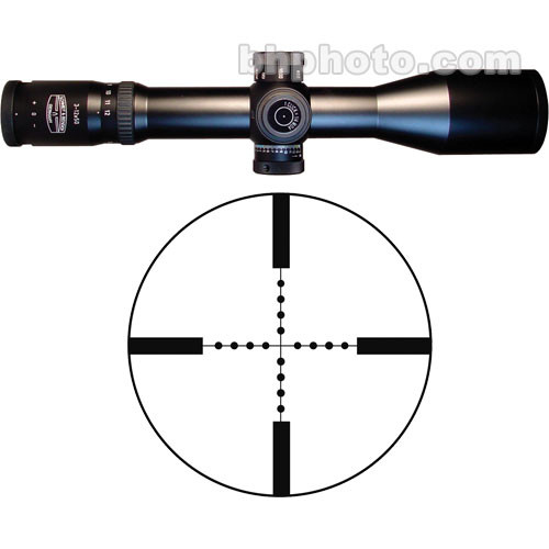 Schmidt & Bender 3-12x50 Precision Hunter Riflescope with P3 Mil-Dot Reticle (Matte)