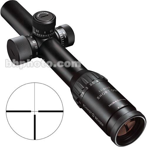 Schmidt & Bender 1.1-4x20 Short Dot Police Marksman II Riflescope (Matte)