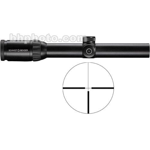 Schmidt & Bender 1.1-4x24 Zenith Riflescope with #7 Reticle