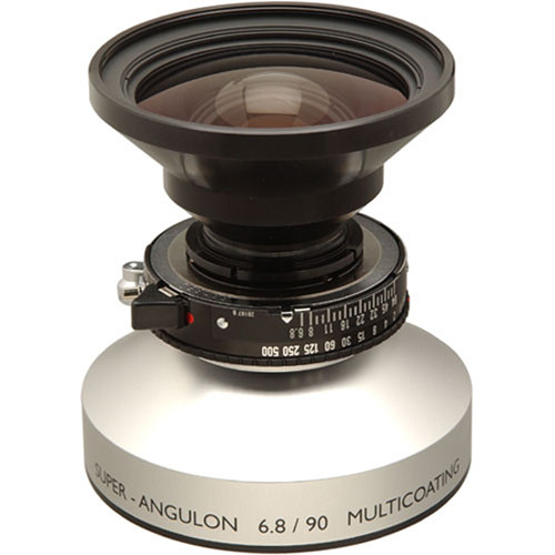 Schneider 90mm f/6.8 Super-Angulon Lens