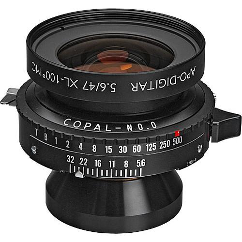 Schneider 47mm f/5.6 Apo-Digitar XL Lens w/ Copal #0 Shutter