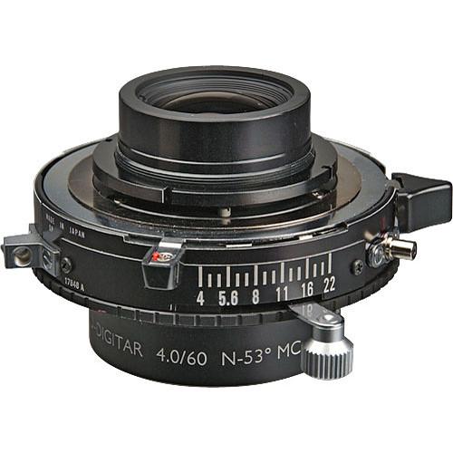 Schneider 60mm f/4 Apo Digitar N Lens w/ Copal #0 Shutter