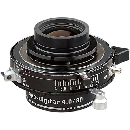 Schneider 80mm f/4 Apo Digitar L Lens w/ Copal #0 Shutter