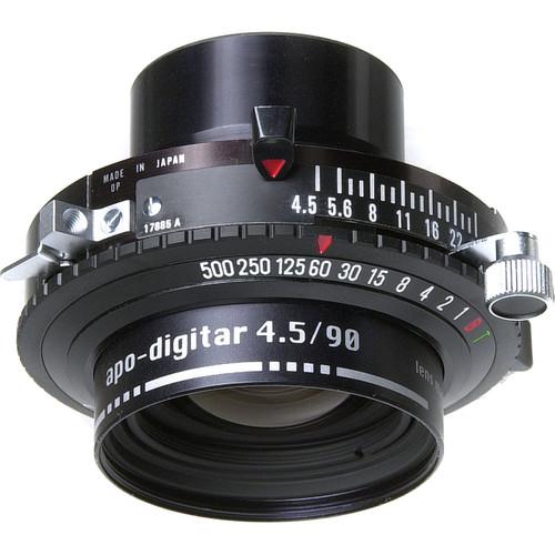 Schneider 90mm f/4.5 Apo Digitar N Lens w/ Copal #0 Shutter