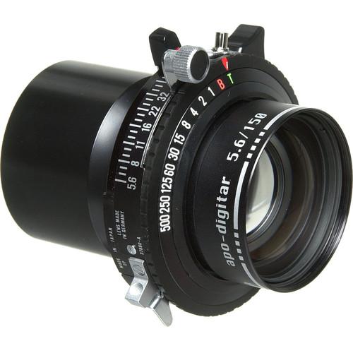 Schneider 150mm f/5.6 Apo Digitar N Lens w/ Copal #0 Shutter