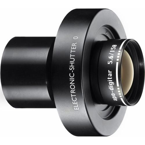 Schneider 150mm f/5.6 Apo Digitar N Lens w/ Schneider Electronic Shutter