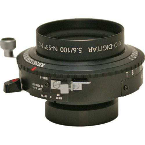 Schneider 100mm f/5.6 Apo Digitar N Lens w/ Copal #0 Shutter