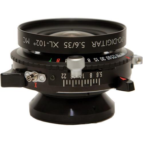 Schneider 35mm f/5.6 Apo-Digitar XL Lens w/ Copal #0 Shutter