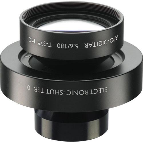 Schneider 180mm f/5.6 Apo Digitar T Lens w/ Schneider Electronic Shutter