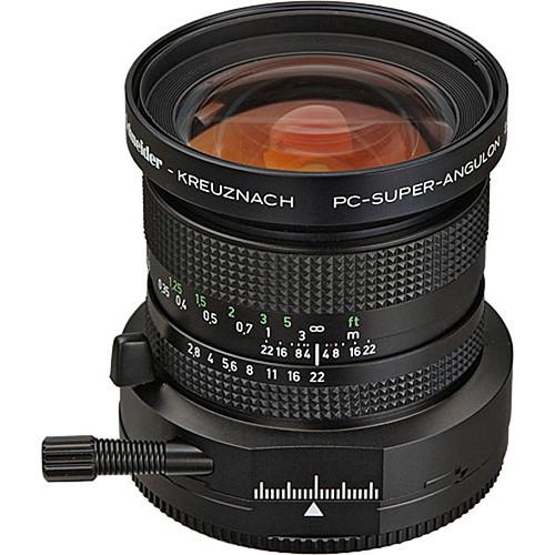 Schneider 28mm f/2.8 PC Super-Angulon Manual Focus Lens - Canon