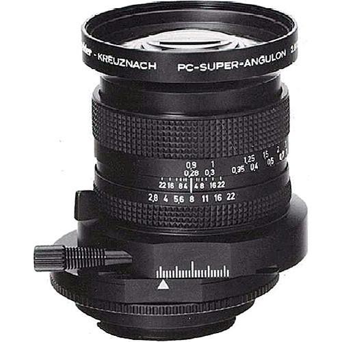 Schneider 28mm f/2.8 PC Super-Angulon Manual Focus Lens - w/o Mount