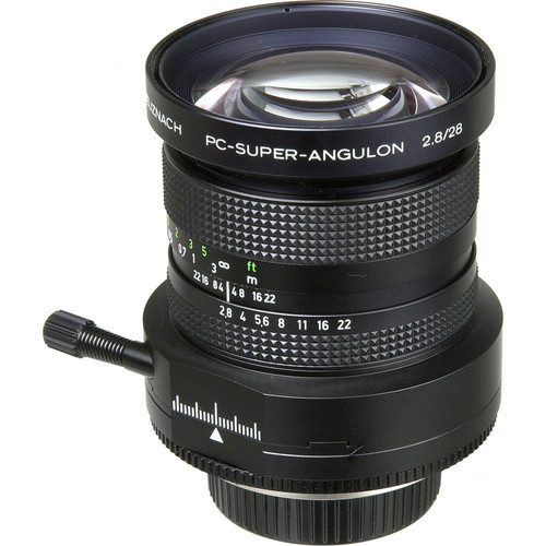 Schneider 28mm f/2.8 PC Super-Angulon Manual Focus Lens for Nikon