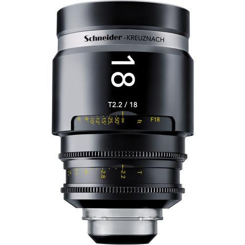 Schneider 1072025 CINE-XENAR III Wide Angle Lens (18mm, PL-Mount)