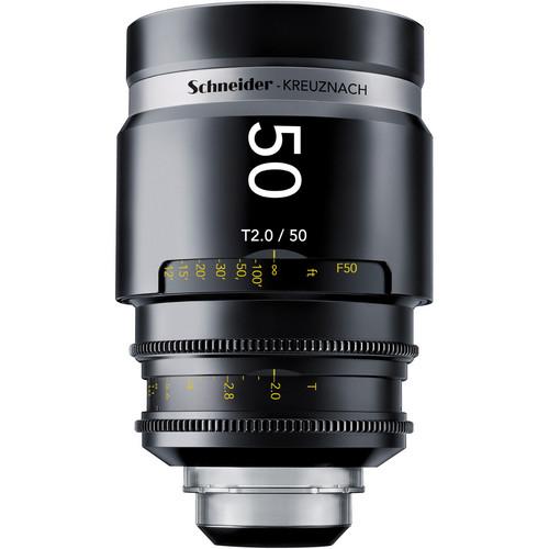 Schneider 1072028 CINE-XENAR III Lens (50mm, PL-Mount)