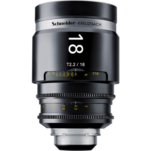 Schneider 1072700 CINE-XENAR III Wide Angle Lens (18mm, Canon-Mount)