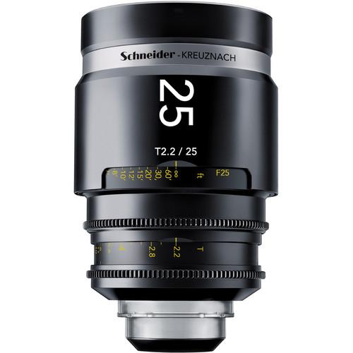 Schneider 1072701 CINE-XENAR III Lens (25mm, Canon-Mount)