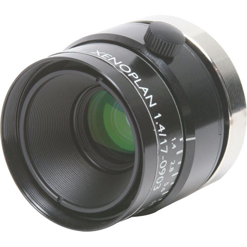 "Schneider 21041831 2/3"" 17mm f/1.4 C-Mount Xenoplan Compact Lens"