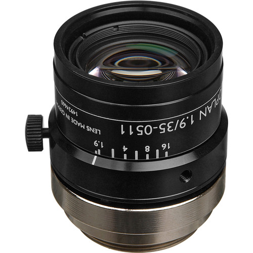 "Schneider 21-1001960 2/3"" 35mm f/1.9 C-Mount Xenoplan Compact Lens"
