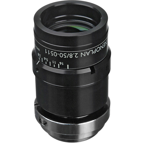 "Schneider 21-1001976 1.3"" 50mm f/2.8 C-Mount Xenoplan Compact Lens"