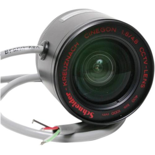 Schneider 22-1056471 Cinegon DC Control 1.8/4.8mm C-Mount Lens